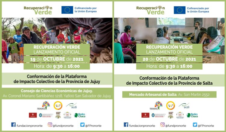 Jujuy y Salta conforman Plataformas Provinciales de Impacto Colectivo que aporten a la resiliencia económica de indígenas y campesinos
