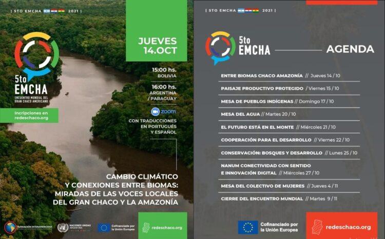 SE DESARROLLA EL 5º ENCUENTRO MUNDIAL  DEL GRAN CHACO AMERICANO